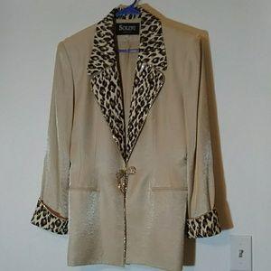 Solini Embellished Suit Jacket